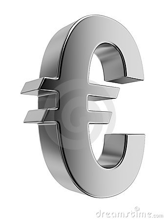 Shiny Euro sign