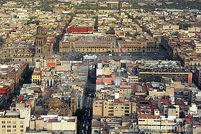 Mexico City centre