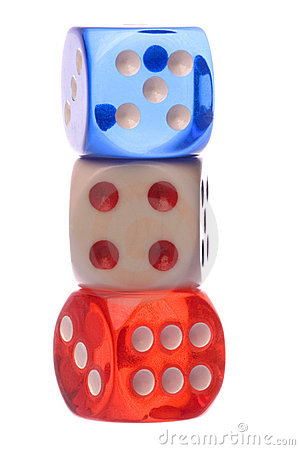 Dice Macro Isolated