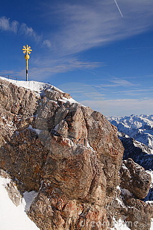 Top of the Zugspitze