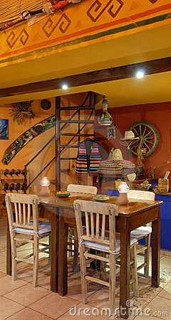 Authentic mexican restaurant