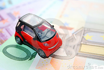 The car and money