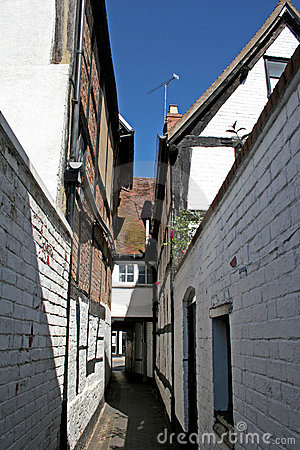 Medieval alley