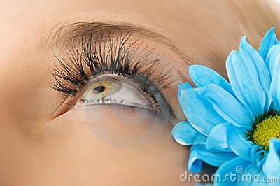 Creative eyelashes