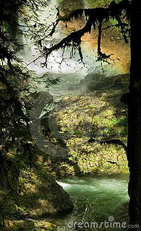Silver Falls State Park, North Falls