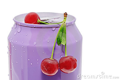 Cherries and tin