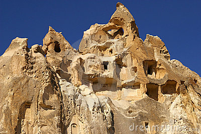 The View Of Cappadocia, Goreme, Turkey