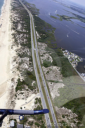 Aerial View-Southern Delaware Beach