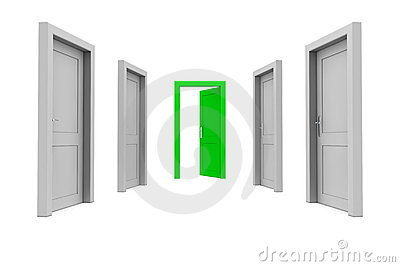 Take the Green Door