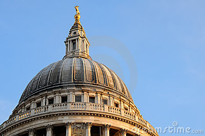 Dome of St. Paul's cathedral