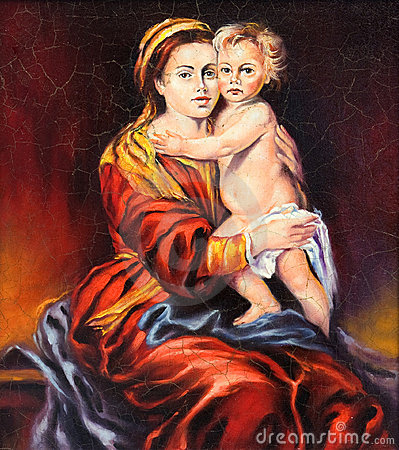 The Madonna with the child