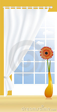 Composition with gerbera