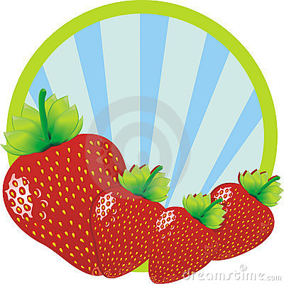 Strawberries illustration