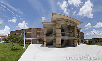 Academic Building at High School in Florida