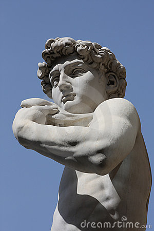David by Michelangelo in Florence,Italy