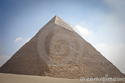 The Pyramid of Khafrae