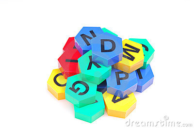 Jumble alphabets