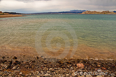 Beach of the Lake Mead