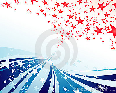 Stars and Stripes streamer