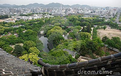 Roof View, Himeji Castle