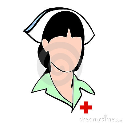 Nurse vector avatar face