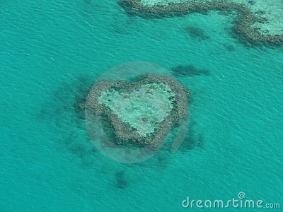 Heart Reef - The Great Barrier Reef