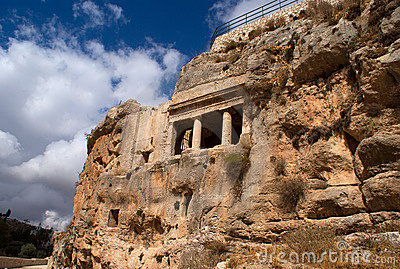 Archeology in Jerusalem - tourist attraction