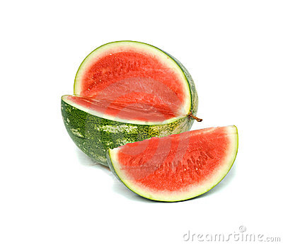 Seedless watermelon and its segment