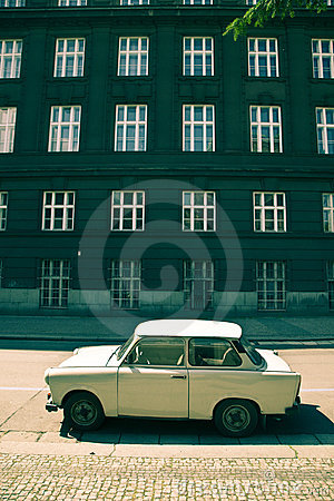 Small car from comunist era