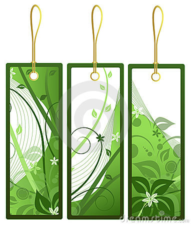 Gift tags, vector