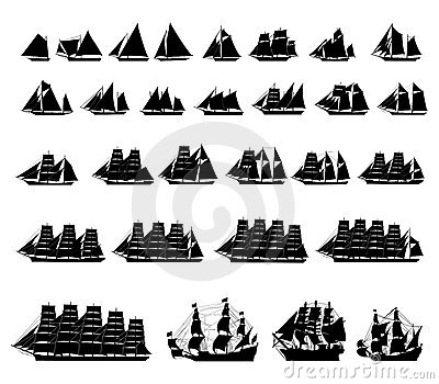 Types of sailboats