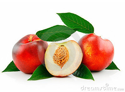 Ripe Sliced Peach (Nectarine)