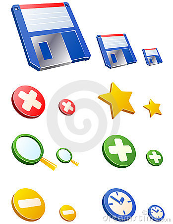 Vector WEB icons. Set 2.