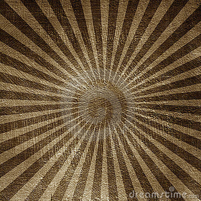 Abstract wall background with sunburst