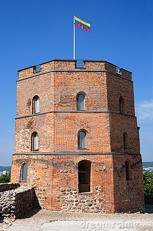 Gediminas Castle Tower in Vilnius