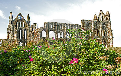Another view of Whitby Abbey.