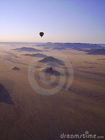 Hot Air Ballooning - Namibia