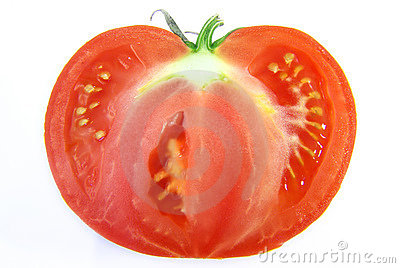 Cut-through tomato 2