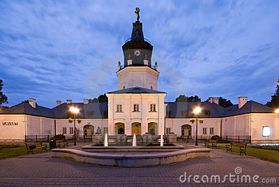 Town Hall in Siedlce, Poland