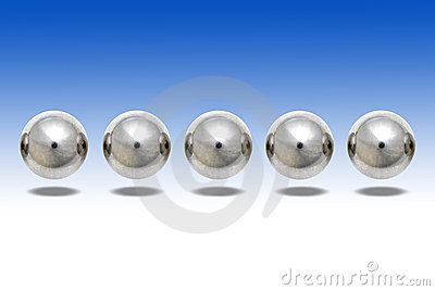 Ball Bearings Floating