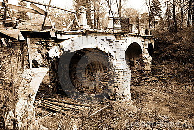Classical old bridge