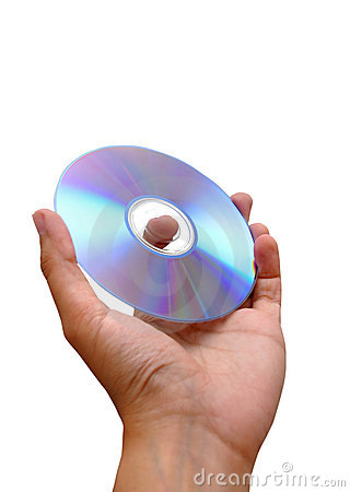 Hand Holding Dvd
