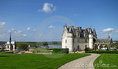 French Chateau on Loire