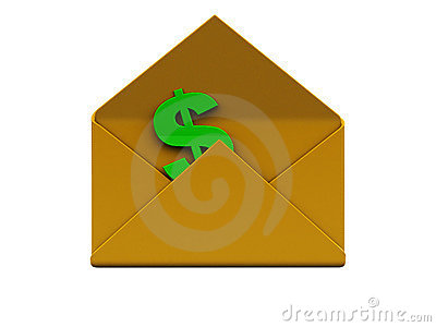Mail with money