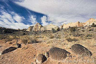 Stones in Capitol Reef National Park