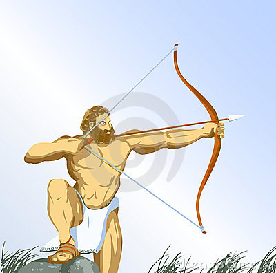 Hercules with bow