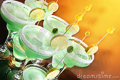 Margaritas in a hot day