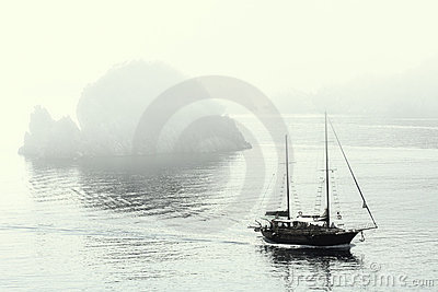 Misty Morning At Marmaris