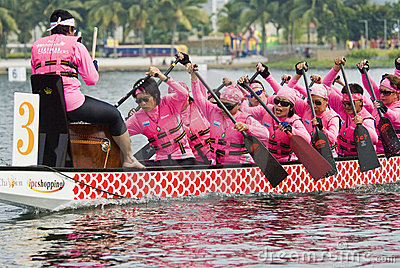 Dragon Boat Race Ladies Team