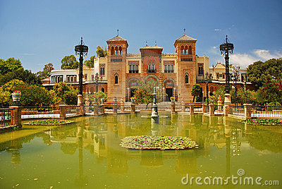 Monuments, Museum in Seville, Spain